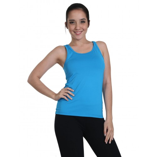 Racer Tank Singlet With Shelf Bra